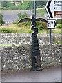 D3015 : Millennium milepost, Glenarm by Richard Webb