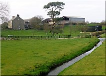 SD4953 : River Cocker View Towards Farm by Rude Health