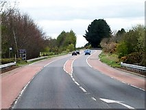 J3655 : The Belfast Road north of the junction with the Old Belfast Road by Eric Jones