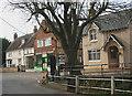 TL2547 : Wrestlingworth, centre of village by David Kemp