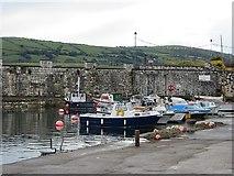 D2818 : Carnlough Harbour by Richard Webb