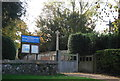 TL4355 : War Memorial, Grantchester by N Chadwick
