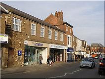 SK8608 : High Street, Oakham by Alan Murray-Rust