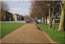 TQ7668 : Saxon Shore Way, Great Lines by N Chadwick