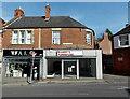 ST8751 : Empty shop in Edward Street, Westbury by Jaggery
