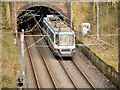 SD8203 : T68A Tram Leaving Heaton Park Tunnel by David Dixon