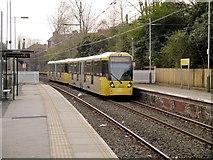 SD8203 : Tram Arriving at Heaton Park by David Dixon