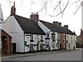SK8608 : The Wheatsheaf and adjacent cottages, Northgate by Alan Murray-Rust