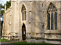 SK8608 : Church of All Saints, West Front by Alan Murray-Rust