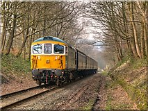 SD7914 : East Lancashire Railway, Captain Bill Smith RNR at Summerseat by David Dixon