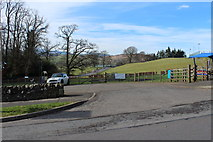 NX6280 : Car Park & Play Park, St John's Town of Dalry by Billy McCrorie