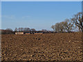 NZ4227 : Recently ploughed fields near High Newton Hanzard by Pauline E