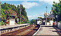 NM8980 : Glenfinnan station, 1996 by Ben Brooksbank