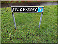 TM3289 : Dukes Way sign by Adrian Cable
