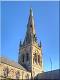 SJ8298 : The Cathedral of St John the Evangelist, Salford by David Dixon