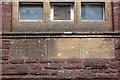 SX8861 : Masonic Lodge foundation stones by Richard Dorrell