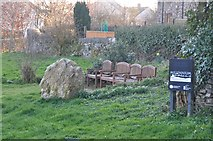 SS9531 : Brompton Regis : George Meadow Millennium Green by Lewis Clarke