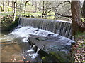 SE0420 : Weir on the River Ryburn by Humphrey Bolton