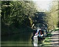 SP9312 : Narrow boats by Marshcroft Lane Bridge by Rob Farrow