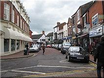 SJ6552 : Pillory Street baroque-Nantwich, Cheshire by Martin Richard Phelan