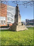 SJ8298 : Prince Albert and the Maxwell Building at the University of Salford by David Dixon