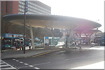 TQ7568 : Chatham Waterfront Bus Station by N Chadwick