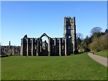 SE2768 : Fountains Abbey by Russel Wills