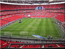 TQ1985 : Wembley Stadium by Les Hull