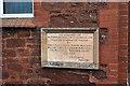 SX8961 : Paignton Spiritualist Church, Commemoration Stone by Richard Dorrell