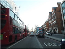 TQ2878 : Buckingham Palace Road by Victoria Station by David Howard