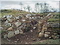 NH5756 : Archaeological excavation at an old Ferintosh distillery by Julian Paren