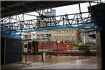 SJ8499 : Refurbishment work at Victoria Station by Bill Boaden