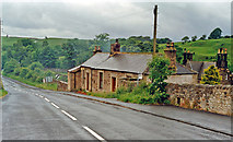 NY6565 : Greenhead: northward beside site/remains of station, 1997 by Ben Brooksbank