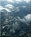 TQ3883 : The River Lea and Greenwich from the air by Thomas Nugent