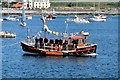 SC2167 : Lifeboat in Port St Mary Harbour by David Dixon