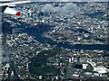 TQ3578 : Rotherhithe and the City of London from the air by Thomas Nugent