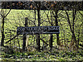 TM3692 : Old Yarmouth Road sign by Geographer