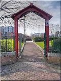 SJ8298 : Islington Park by David Dixon