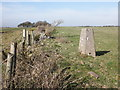 ST3657 : Trig point on Loxton Hill by Roger Cornfoot