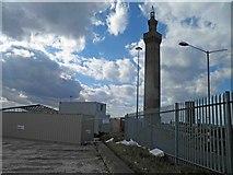 TA2711 : Grimsby Dock Tower by Steve  Fareham