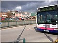 SD7806 : Radcliffe, View from the Bus Station by David Dixon