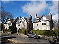 NJ9105 : 6, 8 and 10 Rubislaw Den South, Aberdeen by Bill Harrison