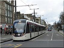 NT2473 : Edinburgh tram in Princes Street by kim traynor