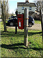 TM3793 : Sheepwalk Postbox by Adrian Cable