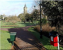 SS7597 : Victoria Gardens from Victoria Gardens, Neath by Jaggery