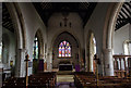 TQ8218 : Interior, St George's church, Brede by Julian P Guffogg