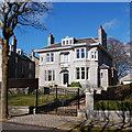 NJ9105 : 58 Rubislaw Den South, Aberdeen by Bill Harrison