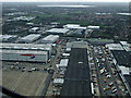 TQ0674 : Heathrow Airport cargo terminal from the air by Thomas Nugent