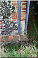 SU7074 : Benchmark on St Peter Caversham Church by Roger Templeman