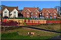 SU3623 : Children's playground and new housing, Abbotswood by David Martin
